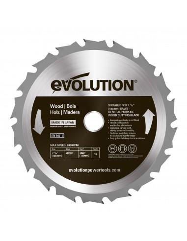 Panza circular lemn 185x20x1.5 18T...